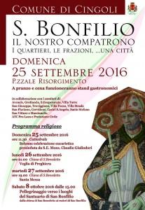 2016-09-21 San Bonfilio Religioso