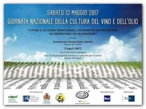 Giornata nazionale della cultura del vino e olio-